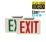 Secureshot Spy Hidden Camera DVR Exit Sign