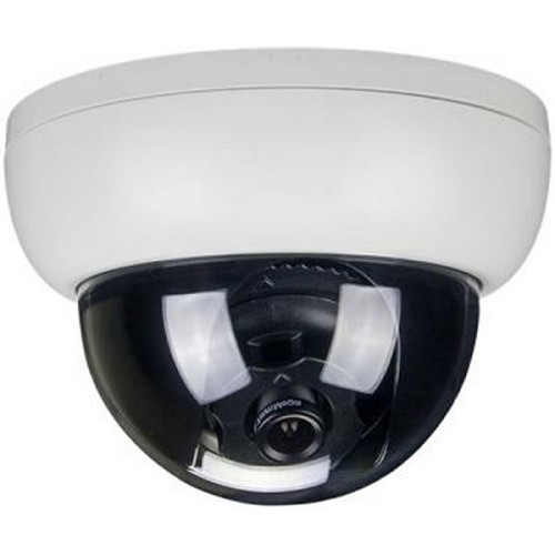 White base dome camera