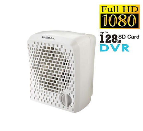 Day & Low Light Video Secureshot HD 1080p Hidden Camera DVR Air Purifier